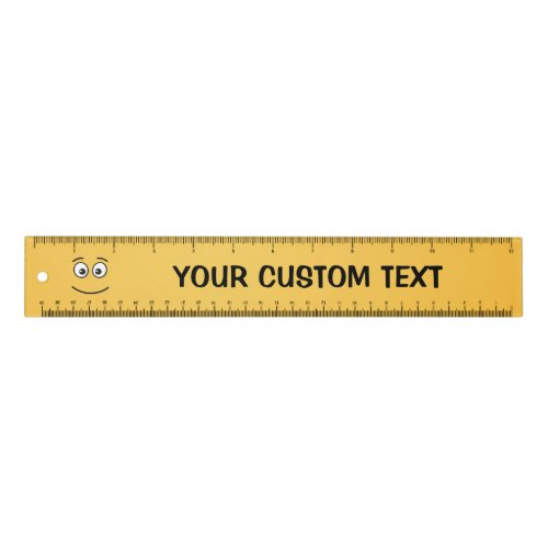 Smiling Face with Open Eyes 12 inch Ruler
