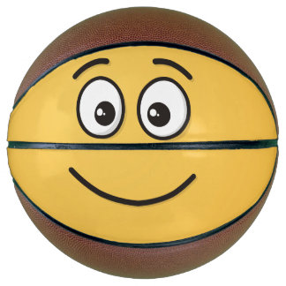Smiling Face with Open Eyes Basketball