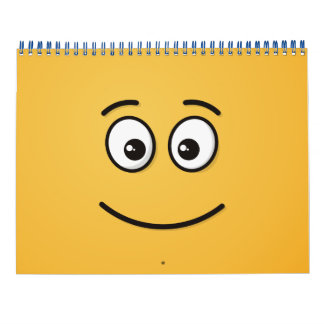 Smiling Face with Open Eyes Calendar