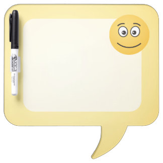 Smiling Face with Open Eyes Dry-Erase Board