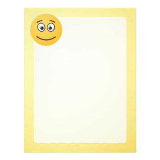 Smiling Face with Open Eyes Letterhead