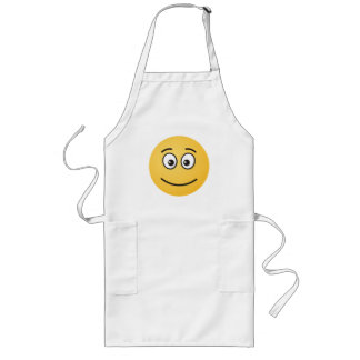 Smiling Face with Open Eyes Long Apron