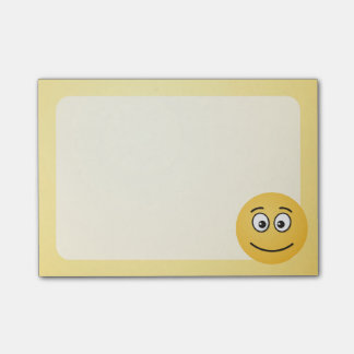 Smiling Face with Open Eyes Post-it Notes