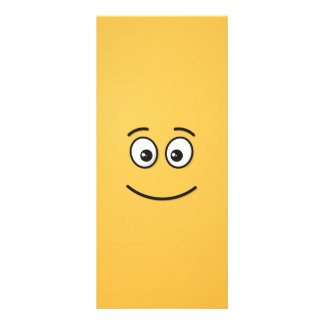 Smiling Face with Open Eyes Rack Card