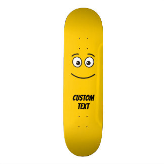 Smiling Face with Open Eyes Skateboard