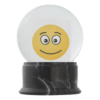 Smiling Face with Open Eyes Snow Globe