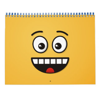 Smiling Face with Open Mouth Calendar