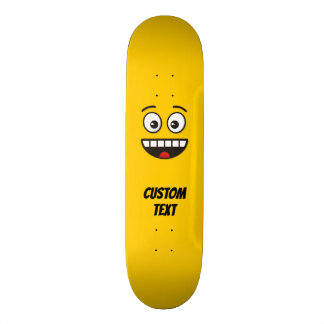 Smiling Face with Open Mouth Skateboard