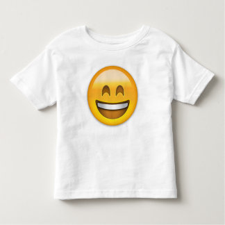 Smiling Face With Open Mouth & Smiling Eyes Emoji Toddler T-shirt