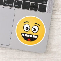 Smiling Face with Open Mouth Sticker