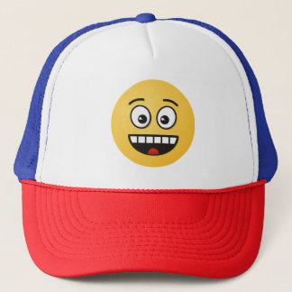 Smiling Face with Open Mouth Trucker Hat