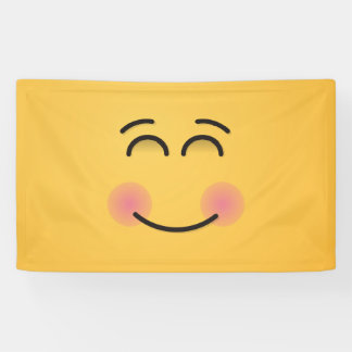 Smiling Face with Smiling Eyes Banner