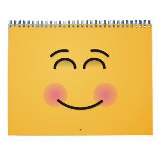 Smiling Face with Smiling Eyes Calendar