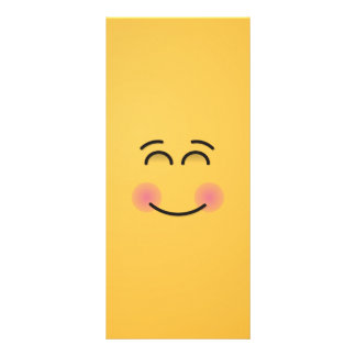 Smiling Face with Smiling Eyes Rack Card