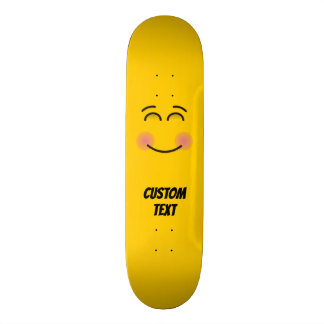 Smiling Face with Smiling Eyes Skateboard
