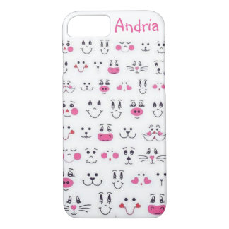 smiling faces iPhone 8/7 case