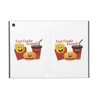 Smiling Fast Foodie Friends Case For iPad Mini
