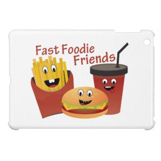 Smiling Fast Foodie Friends iPad Mini Cases