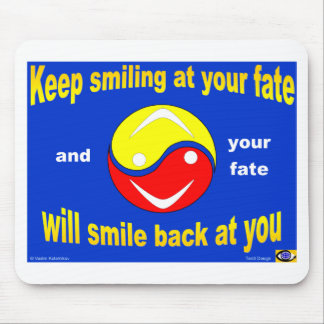 Smiling Fate Mouse Pad