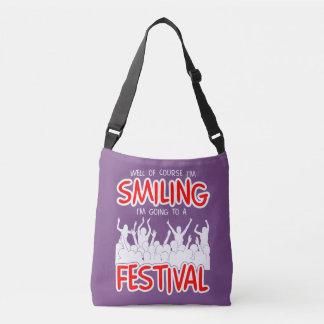 SMILING FESTIVAL (wht) Crossbody Bag