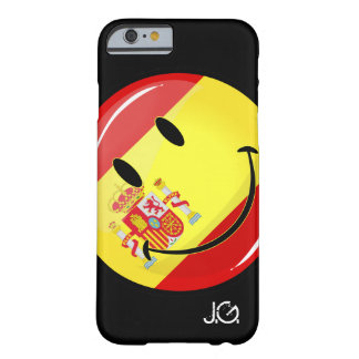 Smiling Flag of Spain Barely There iPhone 6 Case