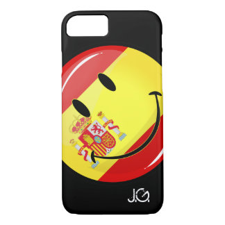 Smiling Flag of Spain iPhone 8/7 Case