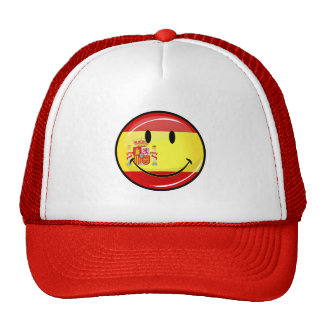 Smiling Flag of Spain Trucker Hat
