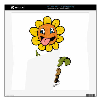 smiling flower cartoon skins for the xbox 360 s