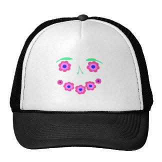 Smiling Flower clothing Trucker Hat