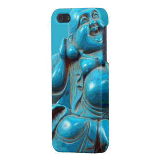 Smiling Fortune Happy Buddha Carving Turquoise Case For iPhone SE/5/5s