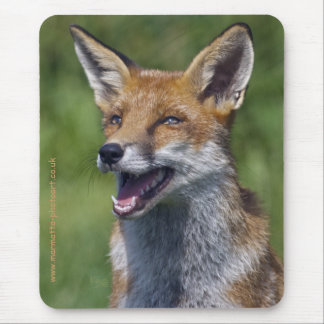Smiling Fox Mousemat Mouse Pad