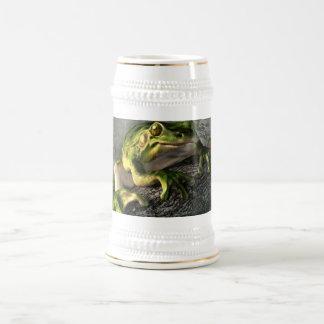 Smiling Frog Beer Stein