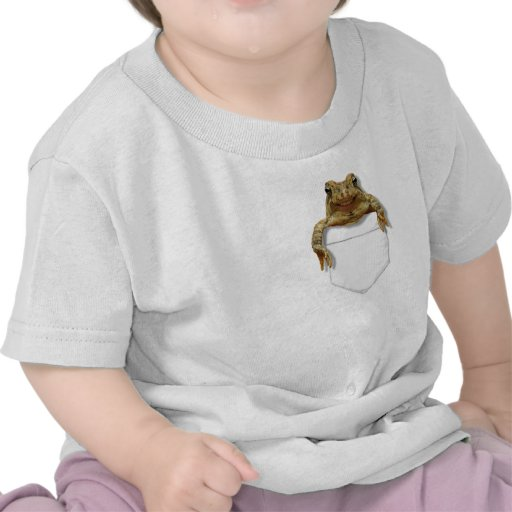 Smiling Frog In Your Pocket Shirts