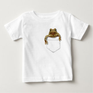 Smiling Frog In Your Pocket Tee Shirt