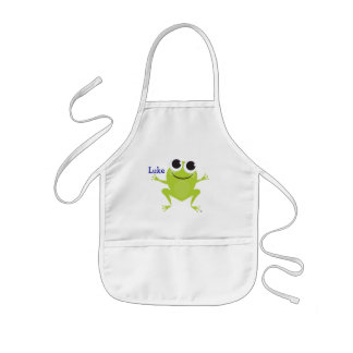 Smiling Frog Personalized Children's Apron