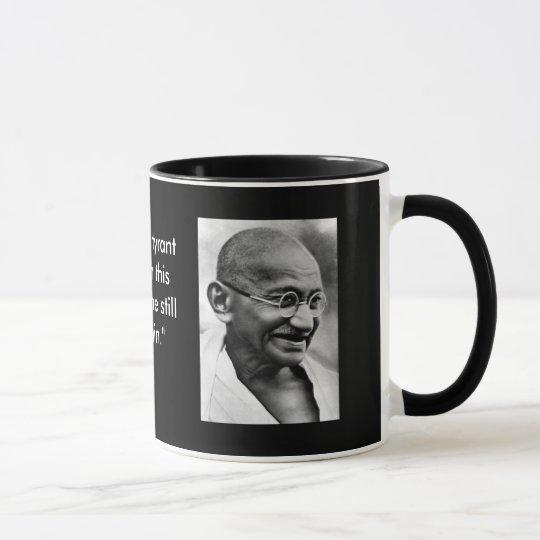Smiling Gandhi Mug