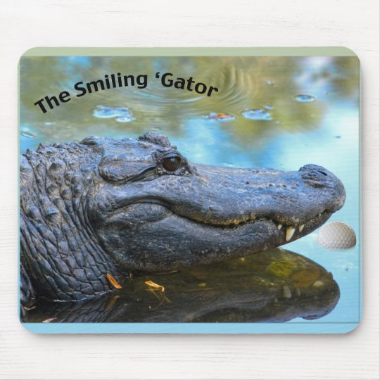 Smiling 'Gator Mousepad