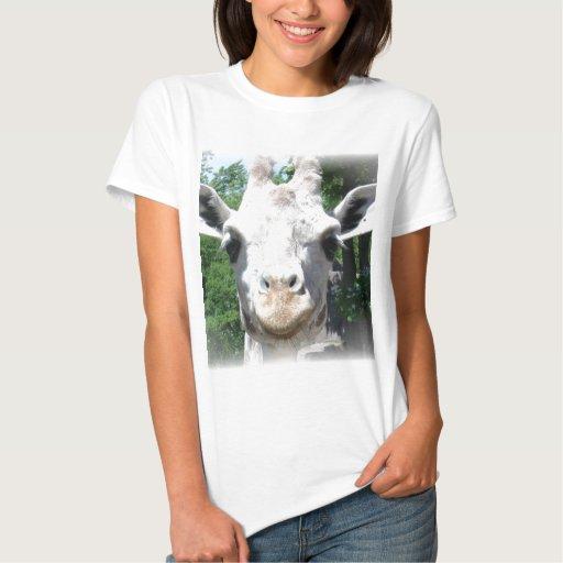 smiling giraffe shirt