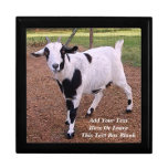 Smiling Goat Jewelry Box
