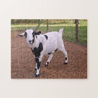 Smiling Goat Jigsaw Puzzle