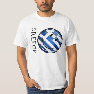 Smiling Greek Flag T-Shirt