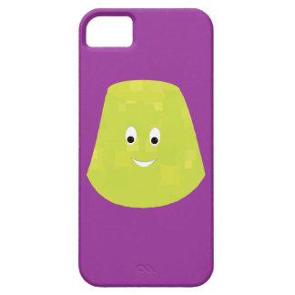 Smiling green gumdrop character iPhone SE/5/5s case