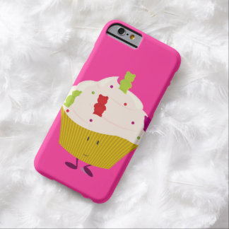Smiling gummy bear cupcake barely there iPhone 6 case