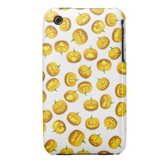 Smiling Halloween Jack-o-Lantern Case-Mate iPhone 3 Case