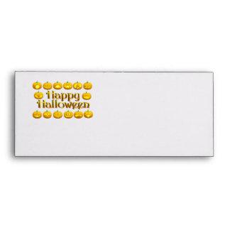 Smiling Halloween Jack-o-Lantern Envelopes