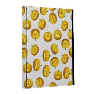 Smiling Halloween Jack-o-Lantern iPad Folio Cover