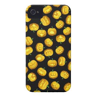 Smiling Halloween Jack-o-Lantern iPhone 4 Covers