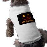Smiling Halloween Jack-o-Lantern Pet Tee