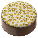 Smiling Halloween Jack-o-Lantern Chocolate Covered Oreo