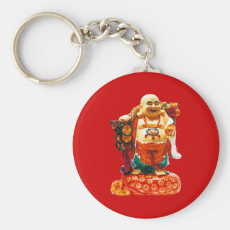 Smiling Happiness Buddha Keychain